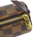 Louis Vuitton Wristlet in Damier Ebene Image 8