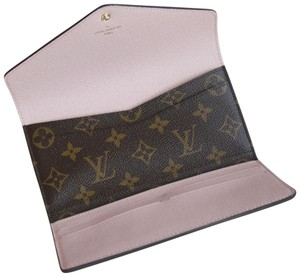 Louis Vuitton USE FEB50 FOR 50 OFF - NEW - Rose Ballerina Monogram Josephine Wallet
