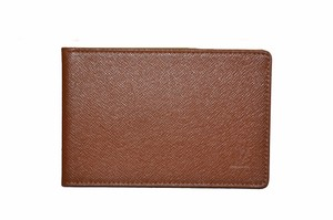 Louis Vuitton New Louis Vuitton Brown Taiga Leather ID Holder