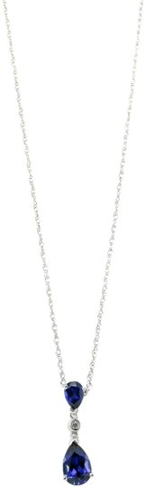 Preload https://img-static.tradesy.com/item/22862743/-blue-sapphires-diamonds-white-gold-and-on-necklace-0-1-540-540.jpg