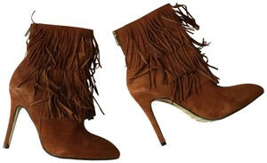 Chinese Laundry Fringe Ginger Suede Boots