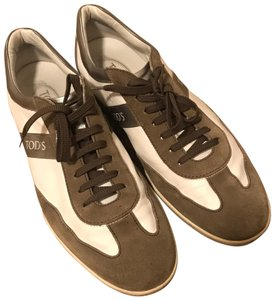 Tod's white/brown Athletic