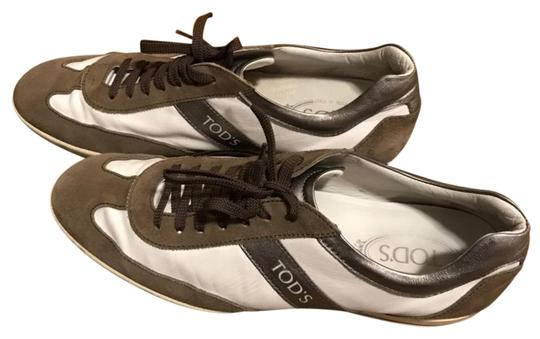 Tod's white/brown Athletic Image 1