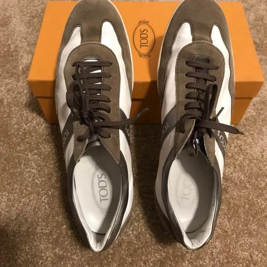 Tod's white/brown Athletic Image 4
