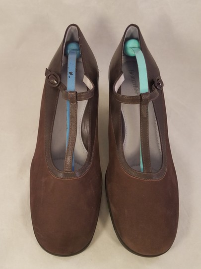 BeautiFeel Arch Support Mary Janes Made In Israel brown Pumps Image 1