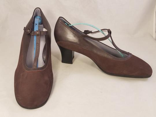 BeautiFeel Arch Support Mary Janes Made In Israel brown Pumps Image 2
