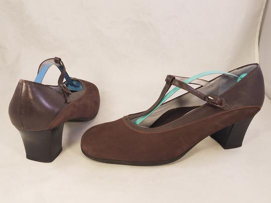 BeautiFeel Arch Support Mary Janes Made In Israel brown Pumps Image 3
