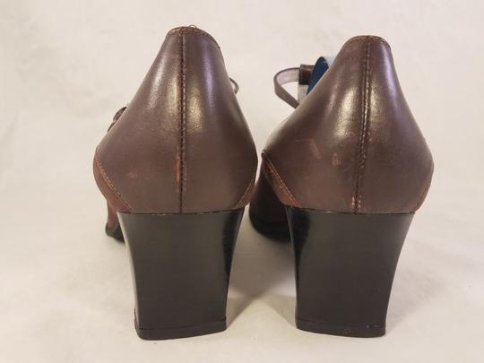 BeautiFeel Arch Support Mary Janes Made In Israel brown Pumps Image 4