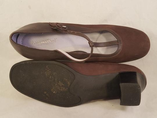 BeautiFeel Arch Support Mary Janes Made In Israel brown Pumps Image 6