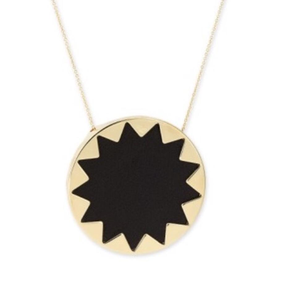 original black notonthehighstreet taylorblack bold sunburst by necklace taylor product com gold