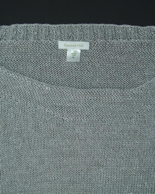 Garnet Hill Linen Metallic New Without Tags Sweater