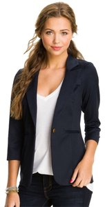 Stoosh Ivy League Casual Casual Blue Casual Wear To Work Cute Soft Nordstroms Navy Blazer