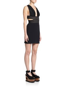 Stella McCartney Cocktail Evening Sexy Crisscross Strap Dress