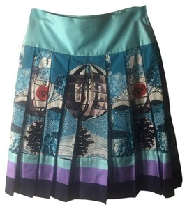 Custo Barcelona Skirt Sea Blue, Mixed colors