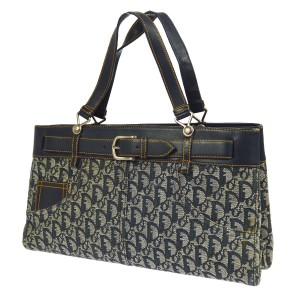 Dior Made In Italy Tote in Navy