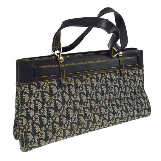 Dior Made In Italy Tote in Navy Image 1