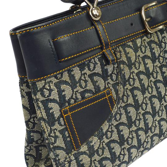 Dior Made In Italy Tote in Navy Image 3