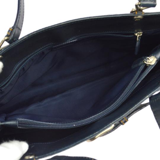Dior Made In Italy Tote in Navy Image 9