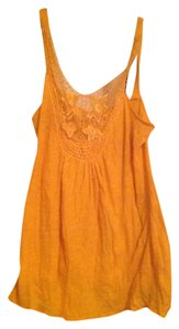 Sparkle & Fade Top Orange