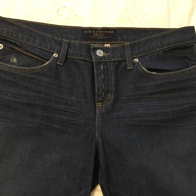 Juicy Couture Trouser/Wide Leg Jeans-Dark Rinse Image 2