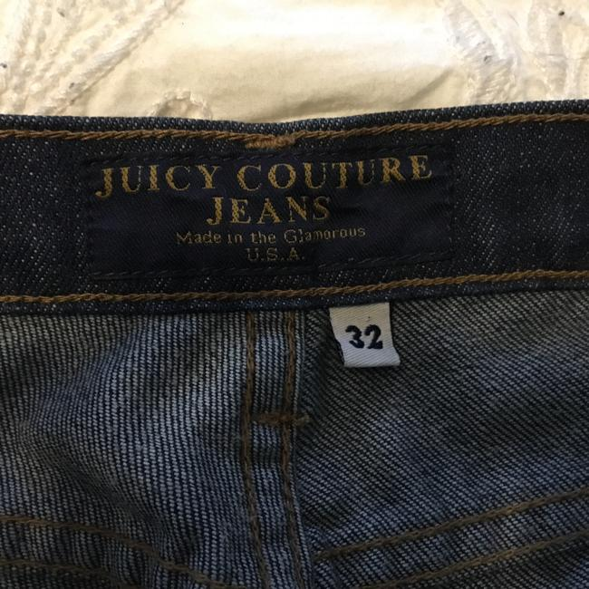 Juicy Couture Trouser/Wide Leg Jeans-Dark Rinse Image 4