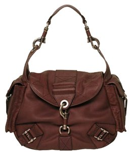 Dior Rebelle Suede Calfskin Satchel Hobo Bag