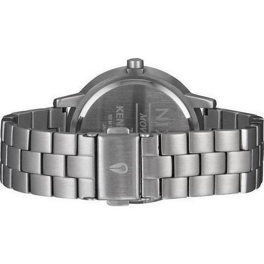 Nixon A366-2363 Bullet Two Tone Metal Bracelet With Blue Analog Dial Watch Image 1