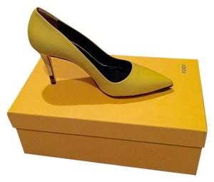 Fendi Yellow Pumps
