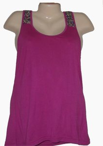 Buffalo Racerback Sequin Shirt Knit Size S New With Tags Top Pink