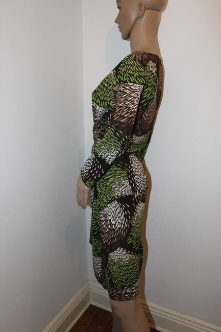 Ann Taylor LOFT short dress Greens, brown and white on Tradesy Image 1
