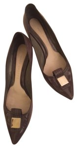 Marc Jacobs Patent Leather Work Office Evening Out Walking Comfortable Grey Pumps