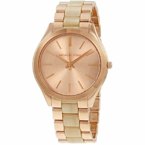Michael Kors Michael Kors Slim Runway Rose Gold-tone Ladies Watch MK3714