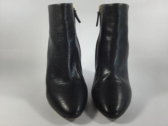 Chloé Beckie Leather Black Boots