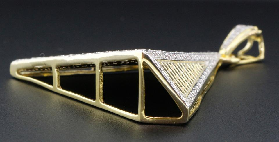 Jewelry for less yellow diamond eye of ra pyramid 925 sterling 12345678 aloadofball Images