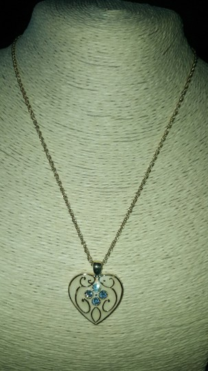 Insppired Inspiration heart necklace Image 3