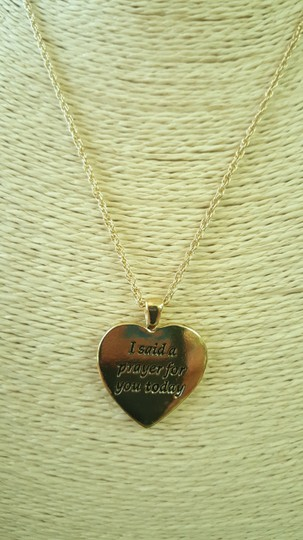 Insppired Inspiration heart necklace Image 4