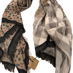 Burberry Burberry patchwork scarf