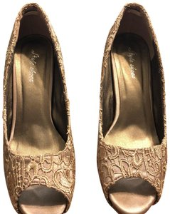 Style Shoes Gold Formal