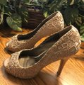 Style Shoes Gold Formal Image 10