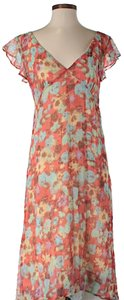 Free People short dress Floral Print Midi on Tradesy