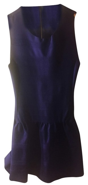 Maje short dress Purple Summer on Tradesy