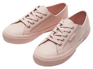 Superga Leather Sneakers Pink Athletic