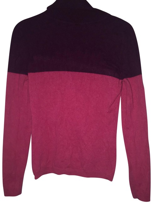 Item - Colorblock Cashmere Pink/Berry Sweater
