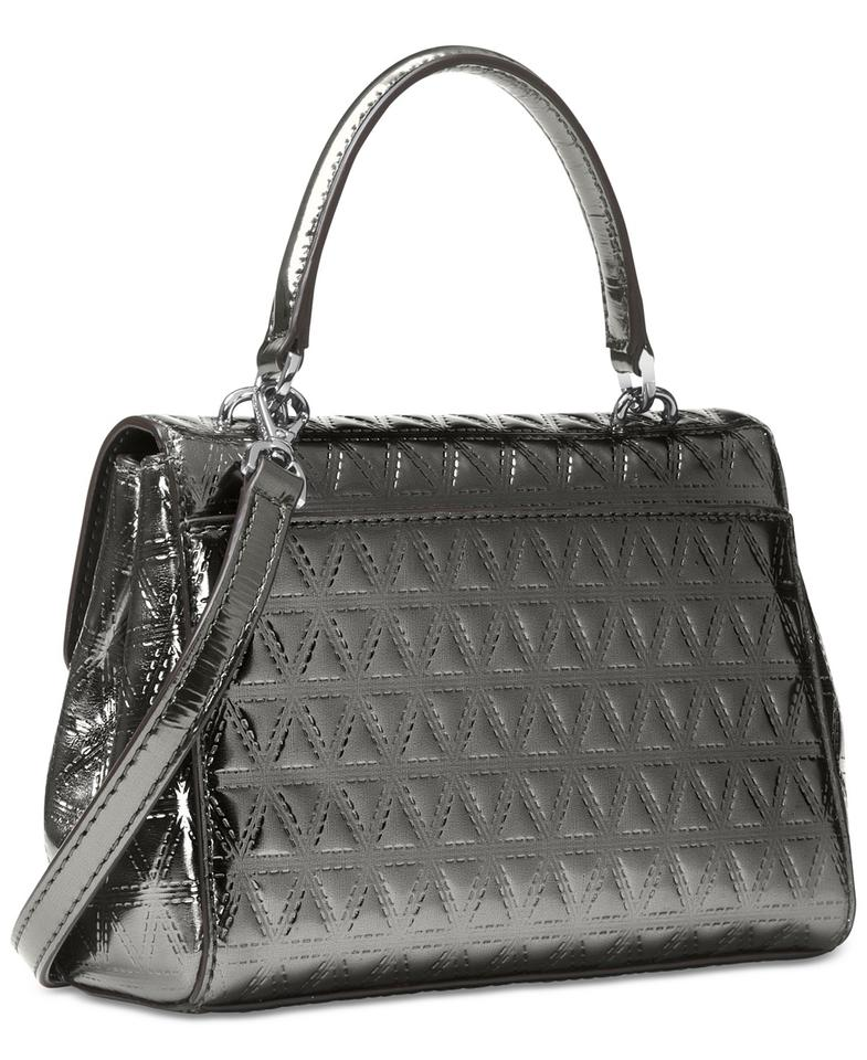 0db286f39d7c Michael Kors Extra-small Ava Quilted Gunmetal Leather Cross Body Bag -  Tradesy