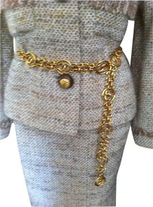 Chanel Vintage Chanel Gold-tone Belt