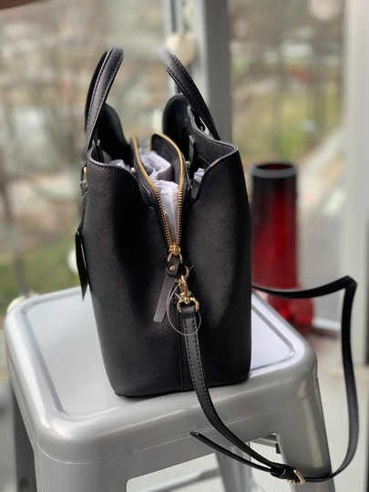 Kate Spade Leather Classic Satchel in Black Image 1