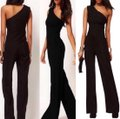 Top Gold & Diamond Jewelry Black New Summer Off Shoulder Sexy Women Rompers Jumpsuit Ladies Elegant Sleeveless Long Playsuit Casual To Dress Pants Size 4 (S, 27) Top Gold & Diamond Jewelry Black New Summer Off Shoulder Sexy Women Rompers Jumpsuit Ladies Elegant Sleeveless Long Playsuit Casual To Dress Pants Size 4 (S, 27) Image 3