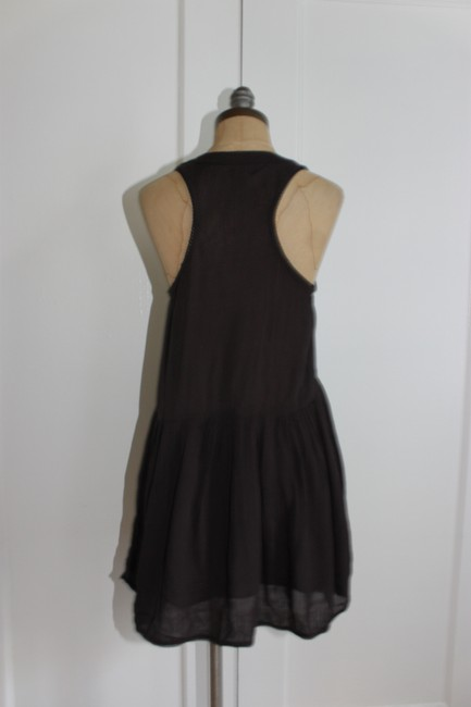 Urban Outfitters short dress FADE BLACK Embroidered Babydoll Free People Ecote on Tradesy Image 3
