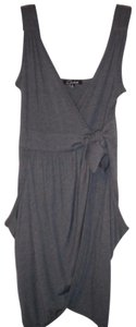 Cecico short dress Blue Wrap V-neck Sleeveless Pockets on Tradesy