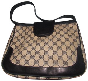 Gucci 'snaffle' Equestrian Accents Great For Everyday Rare Early Excellent Vintage Hobo Bag